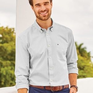 Tommy Hilfiger - Capote End-on-End Chambray Shirt